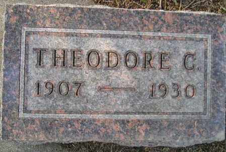 OHNSTAD, THEODORE C. - Codington County, South Dakota | THEODORE C. OHNSTAD - South Dakota Gravestone Photos