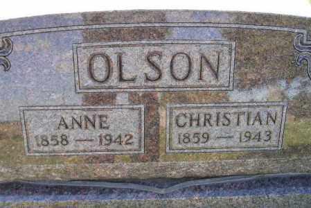 OLSON, CHRISTIAN - Codington County, South Dakota | CHRISTIAN OLSON - South Dakota Gravestone Photos