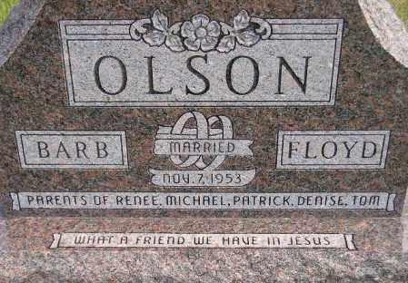 OLSON, FLOYD TRUMAN - Codington County, South Dakota   FLOYD TRUMAN OLSON - South Dakota Gravestone Photos