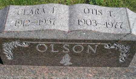SCHULZ OLSON, CLARA IRENE - Codington County, South Dakota | CLARA IRENE SCHULZ OLSON - South Dakota Gravestone Photos