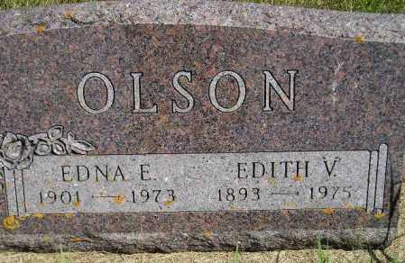 OLSON, EDNA EUNICE - Codington County, South Dakota | EDNA EUNICE OLSON - South Dakota Gravestone Photos