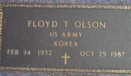 OLSON, FLOYD T. (MILITARY) - Codington County, South Dakota | FLOYD T. (MILITARY) OLSON - South Dakota Gravestone Photos