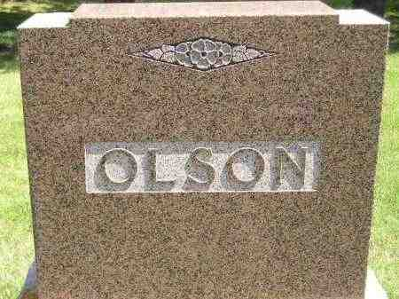 OLSON, FAMILY STONE - Codington County, South Dakota | FAMILY STONE OLSON - South Dakota Gravestone Photos