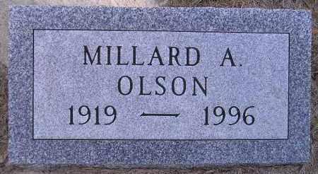 OLSON, MILLARD ALFRED - Codington County, South Dakota | MILLARD ALFRED OLSON - South Dakota Gravestone Photos