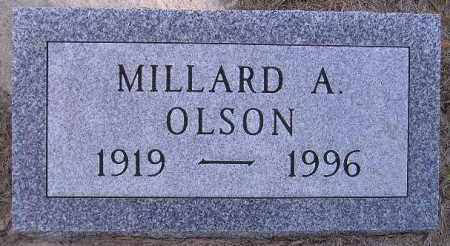 OLSON, MILLARD ALFRED - Codington County, South Dakota | MILLARD ALFRED OLSON - South Dakota Gravestone Photos