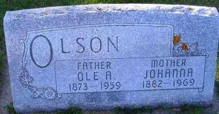 OLSON, OLE A. - Codington County, South Dakota | OLE A. OLSON - South Dakota Gravestone Photos