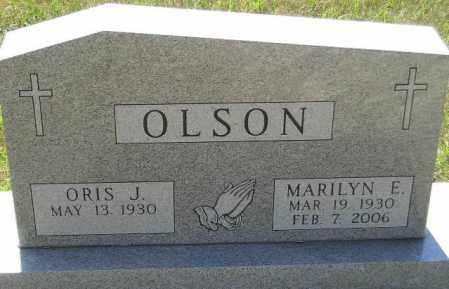 OLSON, ORIS J. - Codington County, South Dakota | ORIS J. OLSON - South Dakota Gravestone Photos