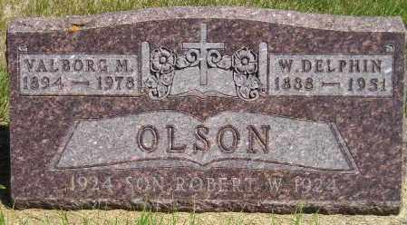 OLSON, VALBORG M. - Codington County, South Dakota | VALBORG M. OLSON - South Dakota Gravestone Photos