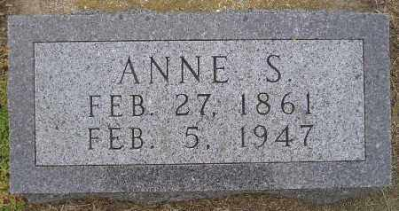 OVERLAND, ANNE S. - Codington County, South Dakota | ANNE S. OVERLAND - South Dakota Gravestone Photos
