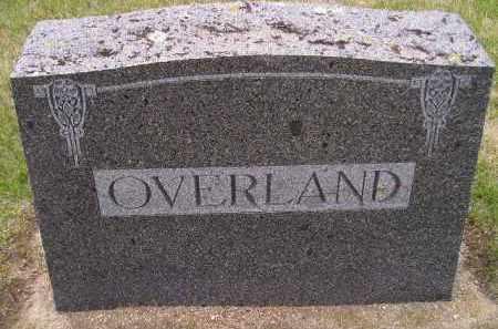 OVERLAND, FAMILY STONE - Codington County, South Dakota | FAMILY STONE OVERLAND - South Dakota Gravestone Photos