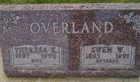 NELSON OVERLAND, THERESA K. - Codington County, South Dakota   THERESA K. NELSON OVERLAND - South Dakota Gravestone Photos