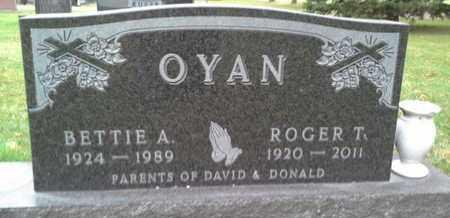 OYAN, ROGER T - Codington County, South Dakota | ROGER T OYAN - South Dakota Gravestone Photos