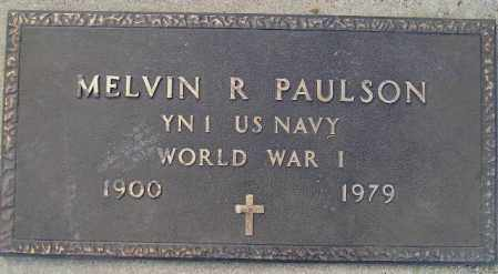 PAULSON, MELVIN R. (WW I) - Codington County, South Dakota | MELVIN R. (WW I) PAULSON - South Dakota Gravestone Photos