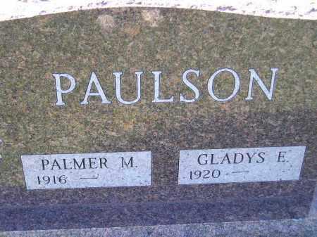 PAULSON, GLADYS E. - Codington County, South Dakota   GLADYS E. PAULSON - South Dakota Gravestone Photos