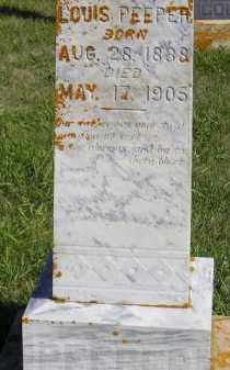 PEEPER, LOUIS - Codington County, South Dakota | LOUIS PEEPER - South Dakota Gravestone Photos