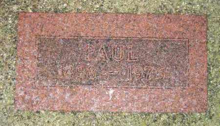 PETERSEN, PAUL - Codington County, South Dakota | PAUL PETERSEN - South Dakota Gravestone Photos