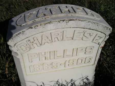 PHILLIPS, CHARLES E. - Codington County, South Dakota | CHARLES E. PHILLIPS - South Dakota Gravestone Photos