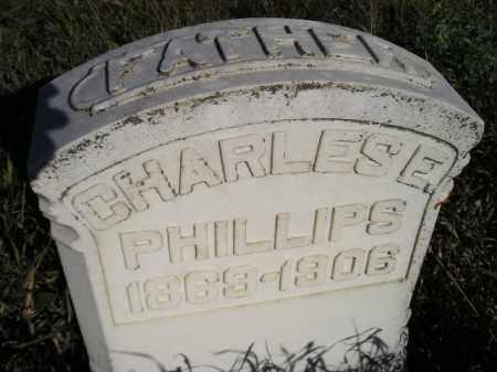 PHILLIPS, CHARLES E. - Codington County, South Dakota | CHARLES E. PHILLIPS - South Dakota Gravestone Photos