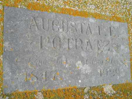 POTTRATZ, AUGUSTA FRIEDERICKA ERNESTINA - Codington County, South Dakota   AUGUSTA FRIEDERICKA ERNESTINA POTTRATZ - South Dakota Gravestone Photos