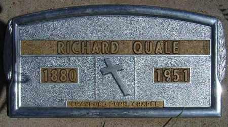 QUALE, RICHARD - Codington County, South Dakota | RICHARD QUALE - South Dakota Gravestone Photos