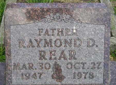 REAR, RAYMOND D. - Codington County, South Dakota | RAYMOND D. REAR - South Dakota Gravestone Photos