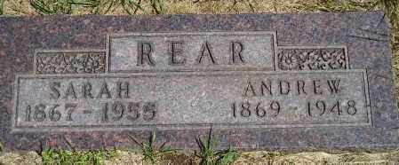 REAR, SARAH H. - Codington County, South Dakota | SARAH H. REAR - South Dakota Gravestone Photos