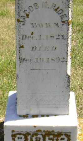 RIDER, JACOB M. - Codington County, South Dakota | JACOB M. RIDER - South Dakota Gravestone Photos