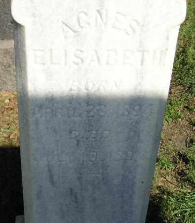 RISLOV, AGNES ELIZABETH - Codington County, South Dakota | AGNES ELIZABETH RISLOV - South Dakota Gravestone Photos
