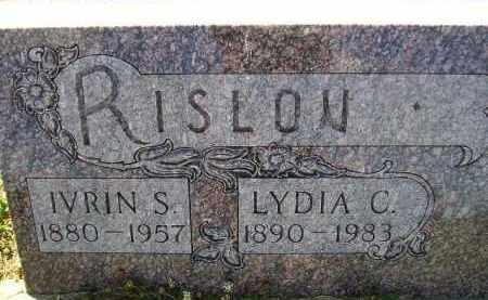 DOCKEN RISLOV, LYDIA CHARLOTTE - Codington County, South Dakota | LYDIA CHARLOTTE DOCKEN RISLOV - South Dakota Gravestone Photos