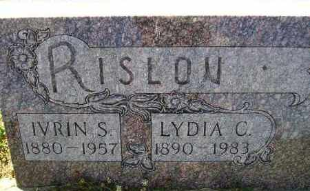 RISLOV, IRVIN S. - Codington County, South Dakota | IRVIN S. RISLOV - South Dakota Gravestone Photos
