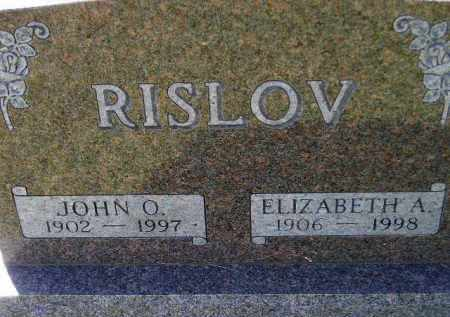 RISLOV, JOHN O. - Codington County, South Dakota | JOHN O. RISLOV - South Dakota Gravestone Photos