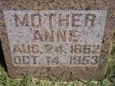 RYE RISTVEDT, ANNE PLENA - Codington County, South Dakota | ANNE PLENA RYE RISTVEDT - South Dakota Gravestone Photos