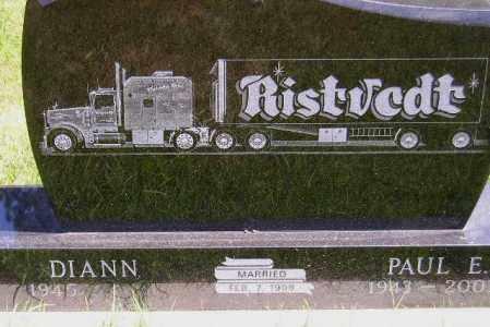 COLEMAN RISTVEDT, DIANN - Codington County, South Dakota | DIANN COLEMAN RISTVEDT - South Dakota Gravestone Photos
