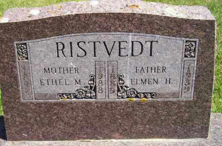 RISTVEDT, ELMEN HOWARD - Codington County, South Dakota | ELMEN HOWARD RISTVEDT - South Dakota Gravestone Photos