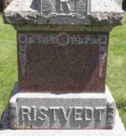 RISTVEDT, FAMILY STONE - Codington County, South Dakota   FAMILY STONE RISTVEDT - South Dakota Gravestone Photos