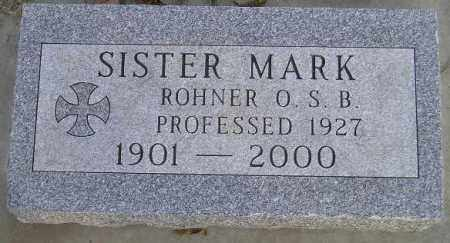 ROHNER, IDA ANN - Codington County, South Dakota | IDA ANN ROHNER - South Dakota Gravestone Photos