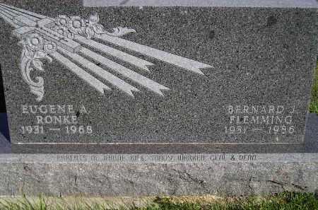 RONKE, EUGENE A. - Codington County, South Dakota   EUGENE A. RONKE - South Dakota Gravestone Photos