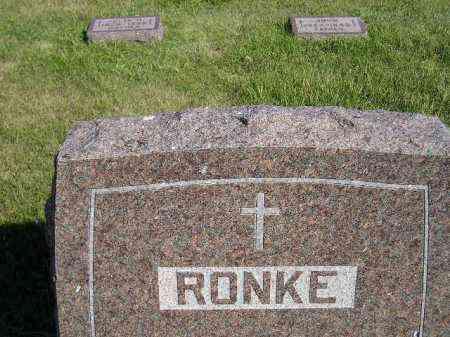 RONKE, FAMILY PLOT - Codington County, South Dakota | FAMILY PLOT RONKE - South Dakota Gravestone Photos