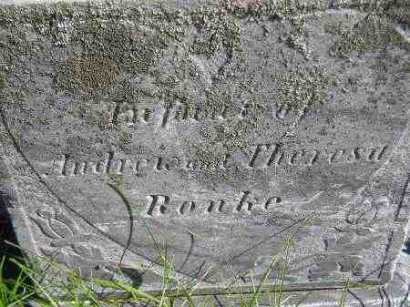 RONKE, INFANT DAUGHTER - Codington County, South Dakota | INFANT DAUGHTER RONKE - South Dakota Gravestone Photos