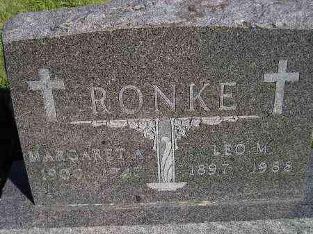 MATZ RONKE, MARGARET A. - Codington County, South Dakota | MARGARET A. MATZ RONKE - South Dakota Gravestone Photos