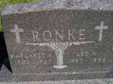 RONKE, LEO M. - Codington County, South Dakota | LEO M. RONKE - South Dakota Gravestone Photos
