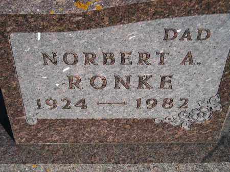 RONKE, NORBERT A. - Codington County, South Dakota | NORBERT A. RONKE - South Dakota Gravestone Photos