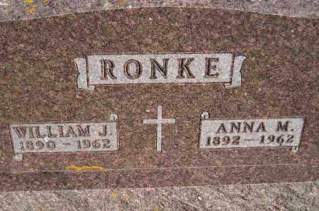 RONKE, ANNA MARIE - Codington County, South Dakota   ANNA MARIE RONKE - South Dakota Gravestone Photos