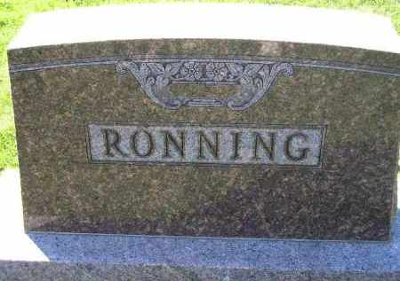 RONNING, FAMILY STONE - Codington County, South Dakota   FAMILY STONE RONNING - South Dakota Gravestone Photos