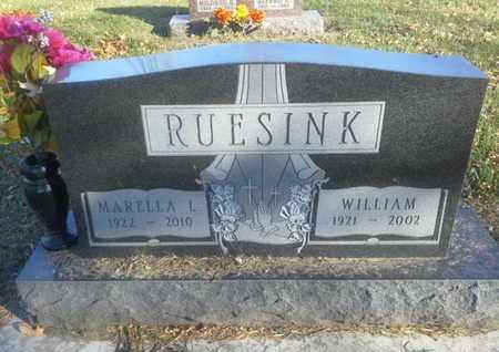 RUESINK, MARELLA L - Codington County, South Dakota   MARELLA L RUESINK - South Dakota Gravestone Photos