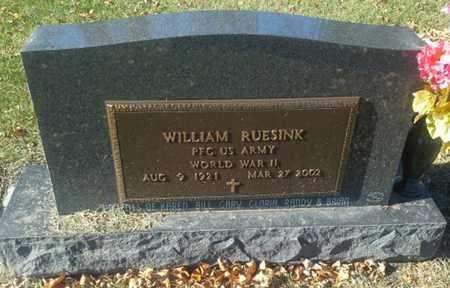 "RUESINK, WILLIAM ""MILITARY"" - Codington County, South Dakota   WILLIAM ""MILITARY"" RUESINK - South Dakota Gravestone Photos"