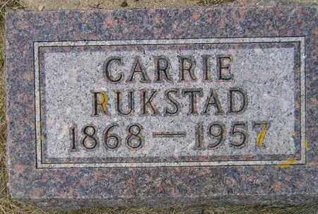 RUKSTAD, CARRIE - Codington County, South Dakota   CARRIE RUKSTAD - South Dakota Gravestone Photos