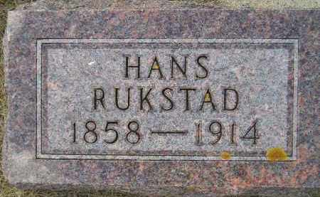 RUKSTAD, HANS SORENSON - Codington County, South Dakota | HANS SORENSON RUKSTAD - South Dakota Gravestone Photos