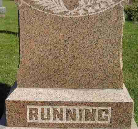 RUNNING, FAMILY STONE - Codington County, South Dakota | FAMILY STONE RUNNING - South Dakota Gravestone Photos