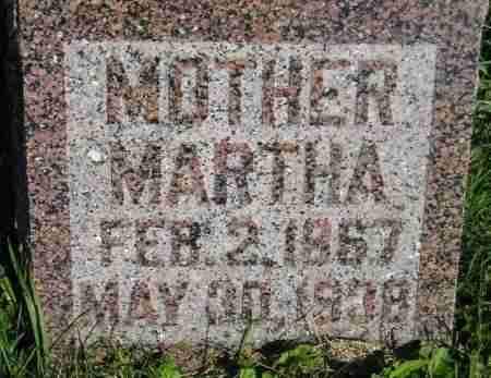 RUNNING, MARTHA - Codington County, South Dakota | MARTHA RUNNING - South Dakota Gravestone Photos